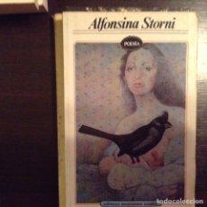 Libros de segunda mano: ALFONSINA STORNI. POESÍA. Lote 99701868