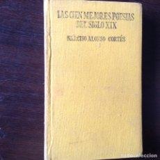 Libros de segunda mano: LAS CIEN MEJORES POESÍAS DEL,SIGLO XX. Lote 99797654