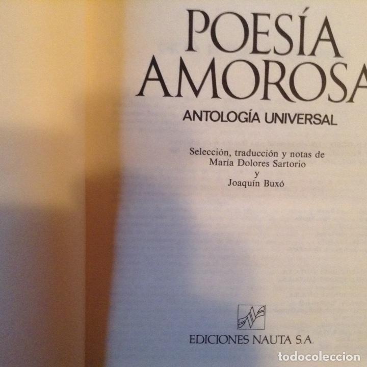 Libros de segunda mano: Poesía amorosa - Foto 2 - 99840930