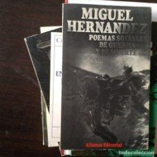 Libros de segunda mano: POEMAS SOCIALES DE GUERRA Y MUERTE. MIGUEL HERNÁNDEZ. Lote 99911048