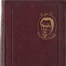 Libros de segunda mano: RUBÉN DARÍO : OBRAS POÉTICAS COMPLETAS. (M. AGUILAR ED., COL. JOYA, MADRID, 1941). Lote 100087163