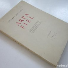 Libros de segunda mano: ADRIANO DEL VALLE. ARPA FIEL. 3.A ED. MADRID: AFRODISIO AGUADO, 1942. Lote 100204147