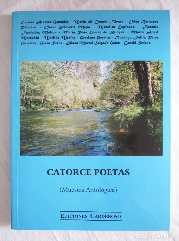 CATORCE POETAS MUESTRA ANTOLÓGICA - EDICIONES CARDEÑOSO (Libros de Segunda Mano (posteriores a 1936) - Literatura - Poesía)