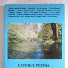 Libros de segunda mano: CATORCE POETAS MUESTRA ANTOLÓGICA - EDICIONES CARDEÑOSO . Lote 101682071