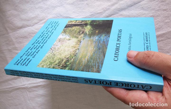 Libros de segunda mano: CATORCE POETAS MUESTRA ANTOLÓGICA - EDICIONES CARDEÑOSO - Foto 2 - 101682071