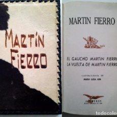 Libros de segunda mano: LA VUELTA DE MARTIN FIERRO. Lote 102057155