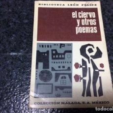 Libros de segunda mano: EL CIERVO Y OTROS POEMAS / LEON FELIPE. Lote 102056159