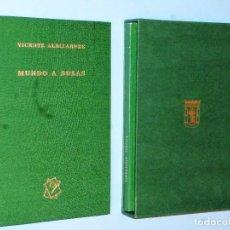Libros de segunda mano: MUNDO A SOLAS (EDICIÓN ESPECIAL). Lote 102409247