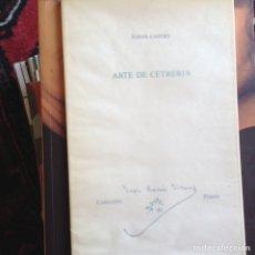 Libros de segunda mano: ARTE DE CETRERÍA. JUANA CASTRO. DEDICADO AUTORA. Lote 102990952