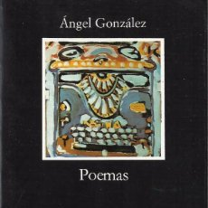 Libros de segunda mano: POEMAS, ÁNGEL GONZÁLEZ. Lote 103785235