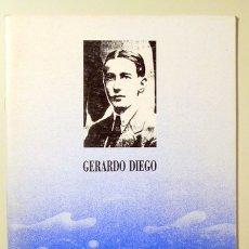 Libros de segunda mano: DIEGO, GERARDO - GERARDO DIEGO - MÁLAGA 1991. Lote 103664174