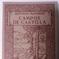 Libros de segunda mano: CAMPOS DE CASTILLA. ANTONIO MACHADO. UNIVERSIDAD INTERNACIONAL DE ANDALUCÍA.. Lote 103789995