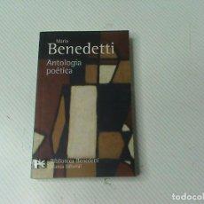 Libros de segunda mano: MARIO BENEDETTI. ANTOLOGÍA POÉTICA.. Lote 103179307