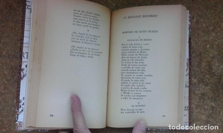 Libros de segunda mano: Antología poética (1918-1936) / Federico García Lorca. Losada ¡¡ Encuadernación artesanal !! - Foto 10 - 105485519