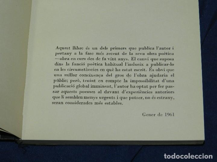 Libros de segunda mano: JOAN BROSSA - POEMES CIVILS , AIGUAFORT JOAN MIRO , COBERTES DANTONI TAPIES , EDICIO 21/ 90 - Foto 8 - 105929443