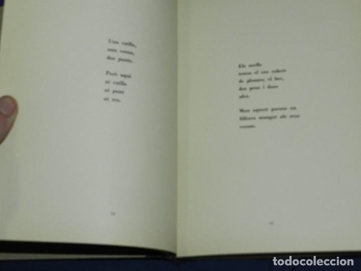 Libros de segunda mano: JOAN BROSSA - POEMES CIVILS , AIGUAFORT JOAN MIRO , COBERTES DANTONI TAPIES , EDICIO 21/ 90 - Foto 11 - 105929443