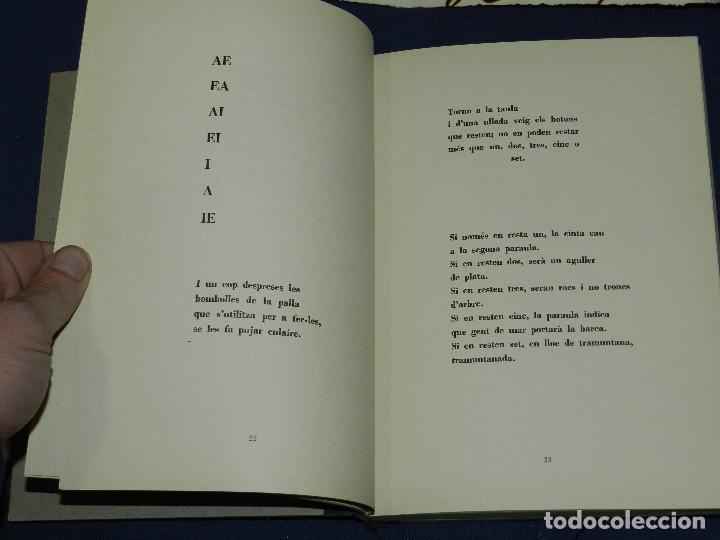 Libros de segunda mano: JOAN BROSSA - POEMES CIVILS , AIGUAFORT JOAN MIRO , COBERTES DANTONI TAPIES , EDICIO 21/ 90 - Foto 12 - 105929443
