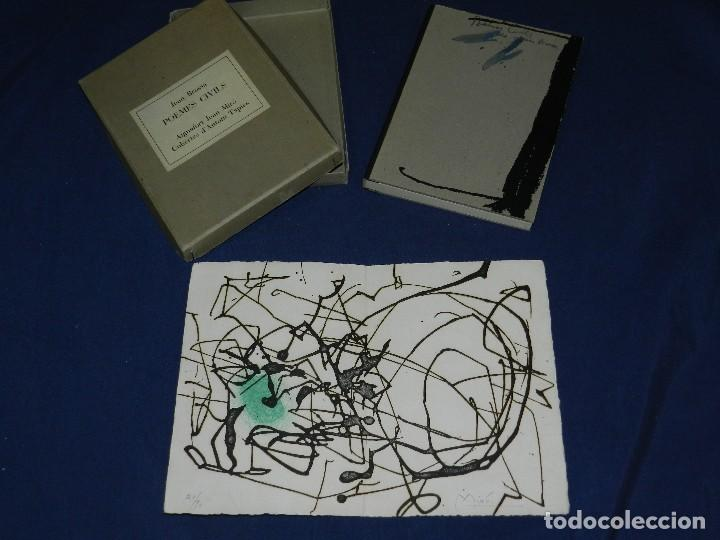 Libros de segunda mano: JOAN BROSSA - POEMES CIVILS , AIGUAFORT JOAN MIRO , COBERTES DANTONI TAPIES , EDICIO 21/ 90 - Foto 13 - 105929443