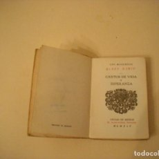 Libros de segunda mano - CANTOS DE VIDA Y ESPERANZA. Rubén Darío - 107031867
