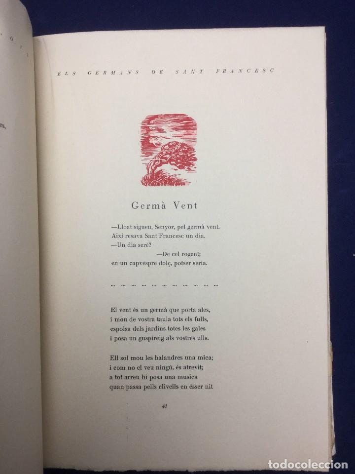 Libros de segunda mano: ELS GERMANS DE SANT FRANCESC. LAUDES FRANCISCANES. 1950 - Foto 3 - 107095555