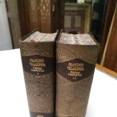 Libros de segunda mano: FRANCISCO VILLAESPESA AGUILAR 1954 JOYA POESIAS COMPLETAS. Lote 108076136