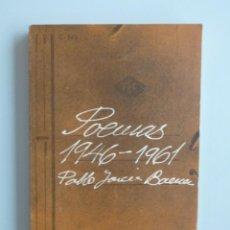 Libros de segunda mano: PABLO GARCÍA BAENA // POEMAS 1946-1961 // EDICIONES ATENEO DE MÁLAGA // 1975. Lote 108461671