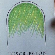 Libros de segunda mano: ANTONIO GAMONEDA. DESCRPCION DE LA MENTIRA .JUNTA DE C Y L.1986. Lote 109613271