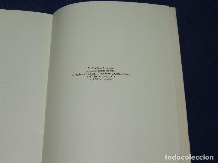 Libros de segunda mano: (M) POEMES JOAN BROSSA - ANTONI TAPIES DIBUIXOS , EDT. DRUIDA 1984 , EDICION DE 1500 EJEMPLARES - Foto 2 - 109904319