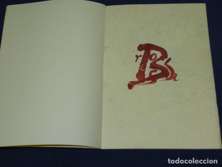 Libros de segunda mano: (M) POEMES JOAN BROSSA - ANTONI TAPIES DIBUIXOS , EDT. DRUIDA 1984 , EDICION DE 1500 EJEMPLARES - Foto 4 - 109904319