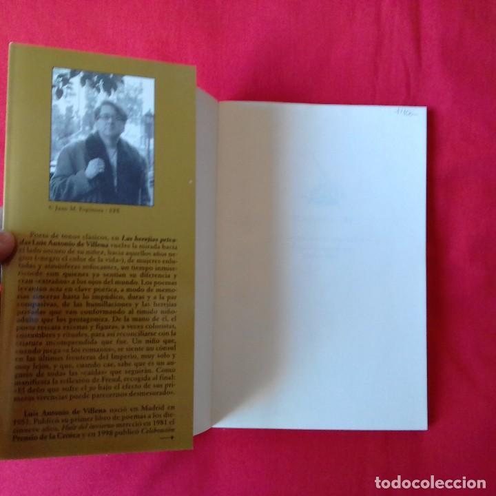 Libros de segunda mano: LAS HEREJÍAS PRIVADAS. LUIS ANTONIO DE VILLENA. TUSQUETS. NUEVOS TEXTOS SAGRADOS. MARGINALES 1º EDIC - Foto 3 - 110166831