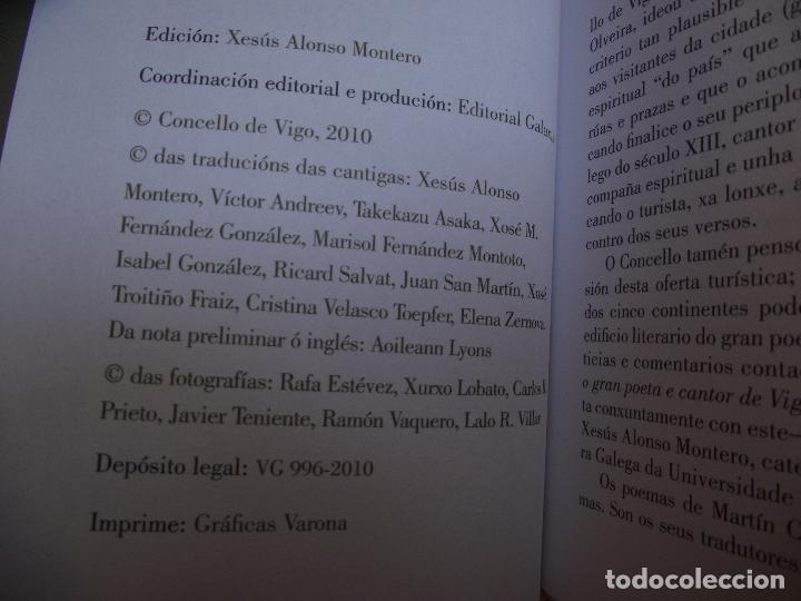 Libros de segunda mano: AS SETE CANTIGAS DE MARTIN CODAX EN DEZ IDIOMAS - Foto 3 - 110390919