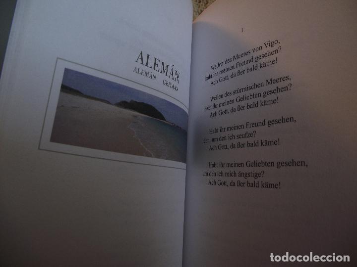 Libros de segunda mano: AS SETE CANTIGAS DE MARTIN CODAX EN DEZ IDIOMAS - Foto 5 - 110390919