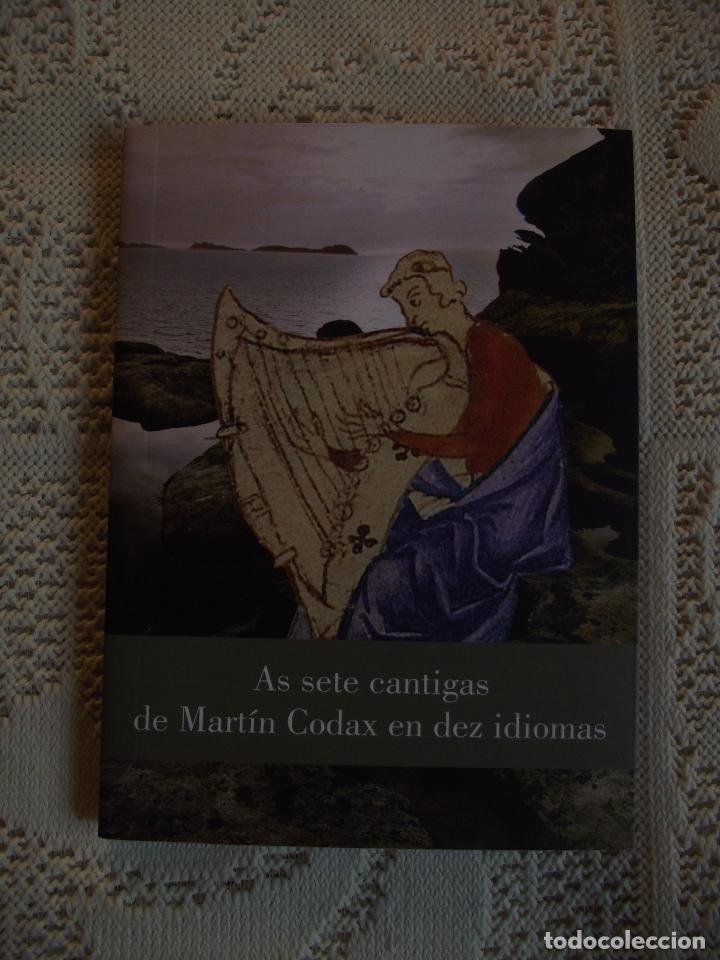 Libros de segunda mano: AS SETE CANTIGAS DE MARTIN CODAX EN DEZ IDIOMAS - Foto 2 - 110390919