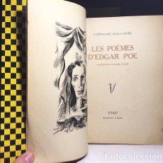 Libros de segunda mano: STÉPHANE MALLARMÉ : LES POÈMES D´EDGAR POE. (ILLUSTRATIONS DE RAQUEL FORNER. TIRAD NUMERAD. Lote 110569555