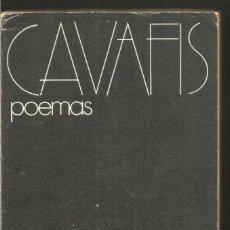 Libros de segunda mano: CAVAFIS. POEMAS. VISOR. Lote 110664963