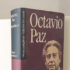 Libros de segunda mano: OCTAVIO PAZ : OBRA POÉTICA. TOMO I. (C DE LECTORES. 585 PÁGS. Lote 110795867