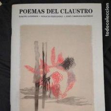 Libros de segunda mano: POEMAS DEL CLAUSTRO Nº15 - 2006-(INCLUYE ENCARTES). Lote 110841507