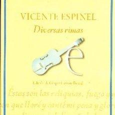Libros de segunda mano: DIVERSAS RIMAS. PO-503. Lote 111217399