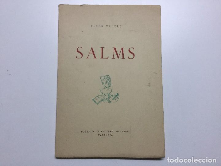 LLUIS VALERI. SALMS. 1966 (Libros de Segunda Mano (posteriores a 1936) - Literatura - Poesía)
