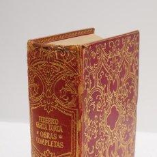 Libros de segunda mano: FEDERICO GARCÍA LORCA – OBRAS COMPLETAS (EDICIÓN DE LUJO) – AGUILAR 1965. Lote 111450851
