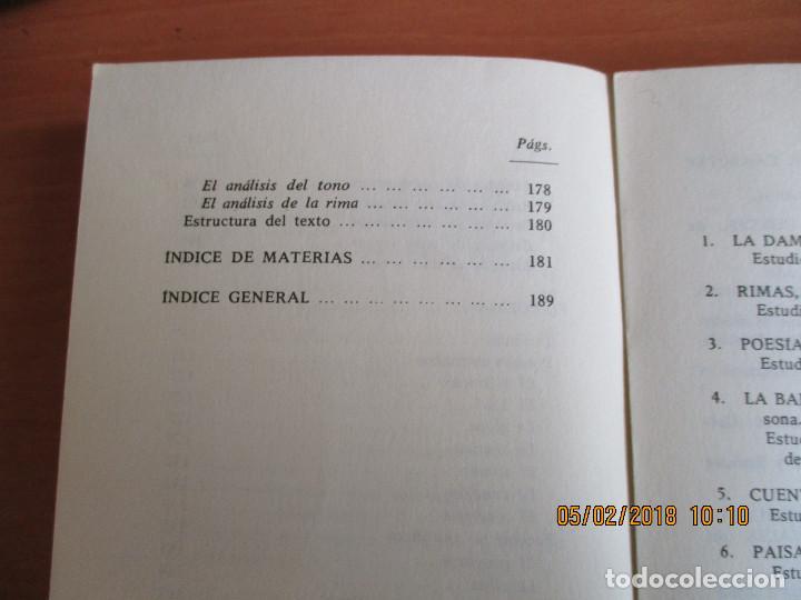 Libros de segunda mano: MÉTRICA ESPAÑOLA Antonio Quilis Ediciones Alcalá 3ª Edicion 1975 - Foto 5 - 111559883
