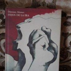 Libros de segunda mano: HIJOS DE LA IRA, DE DAMASO ALONSO. DIBUJOS DE PLA-NARBONA. CIRCULO DE LECTORES, 1990. EXCELENTE ESTA. Lote 112985759