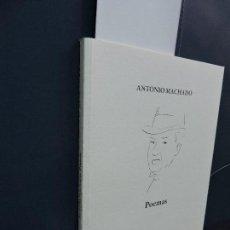 Libros de segunda mano: POEMAS. MACHADO, ANTONIO. ED. JUNTA DE ANDALUCÍA. SEVILLA 2009. Lote 114528135