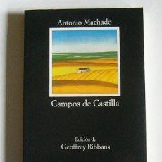 Libros de segunda mano: CAMPOS DE CASTILLA - ANTONIO MACHADO - EDICION DE GEOFFREY RIBBANS - EDITORIAL CATEDRA. Lote 115645447