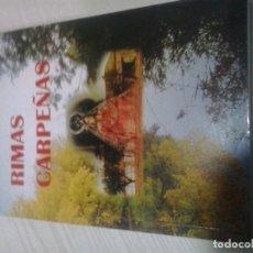 Libros de segunda mano: RIMAS CARPEÑAS - FAUSTINO MORENO VILLALBA. Lote 116295363