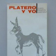 Libros de segunda mano: JUAN RAMÓN JIMÉNEZ // PLATERO Y YO // ELEGÍA ANDALUZA // INTRODUCE RICARDO GULLÓN // 1970. Lote 116840283