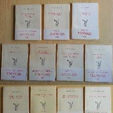 Libros de segunda mano: LOTE 19 TÍTULOS PREMIOS ADONAIS 1959-1992. RIALP. VER DESCRIPCIÓN Y FOTOS PARA DETALLES. Lote 116970867
