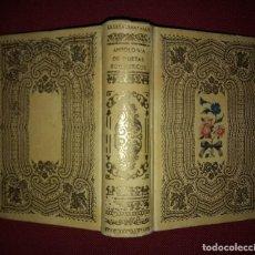 Libros de segunda mano: 1942 ANTOLOGÍA DE POETAS ROMÁNTICOS BÉCQUER, ESPRONCEDA, SAN JUAN DE LA CRUZ, JORGE MANRIQUE. Lote 141169302