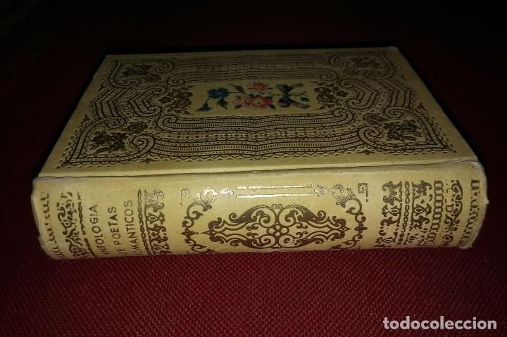 Libros de segunda mano: 1942 ANTOLOGÍA DE POETAS ROMÁNTICOS Bécquer, Espronceda, San Juan de la cruz, Jorge Manrique - Foto 8 - 141169302