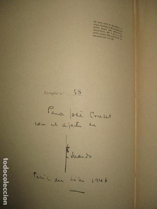 Libros de segunda mano: EN LA LLAMA. CIRLOT, Juan Eduardo. 1945. PRIMERA EDICIÓN. DEDICATORIA AUTÓGRAFA. - Foto 3 - 118146403